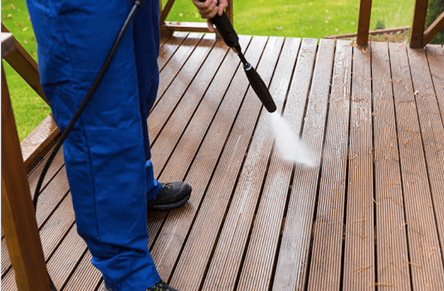 deck cleaning newton