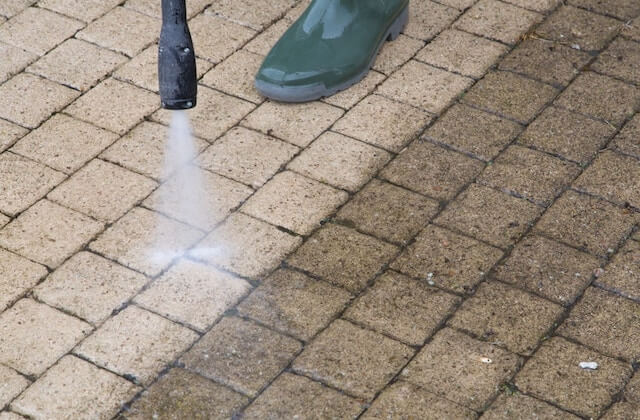 newton patio cleaning